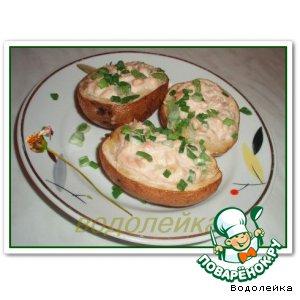 Картошка с тунцом