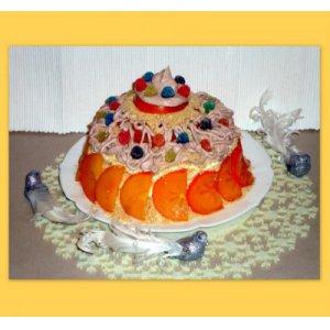 """Блинный тортик """"Улыбка"""""""