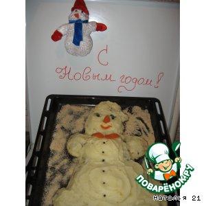 Снеговичок с сюрпризом