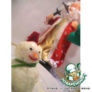 """""""Снеговик с сюрпризом"""" для Деда Мороза"""