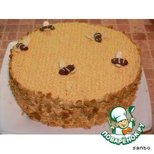 Медовый торт для трех медведей