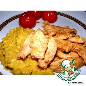Пикантная курица с паприкой