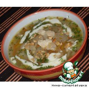 Овощной суп с фенхелем
