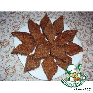 Пряные имбирно-кокосовые ромбики