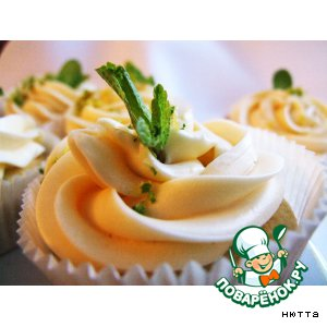 "Cupcake  ""Вкус Мохито"""