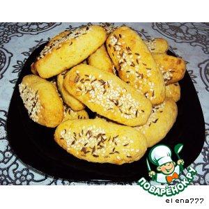 Кукурузно-сырное печенье