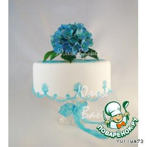 Цветочки из сахарной мастики для тортов