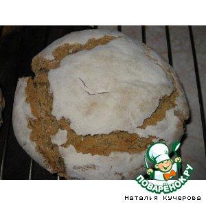 Хлеб с кукурузной мукой на закваске (Pan de Broa)