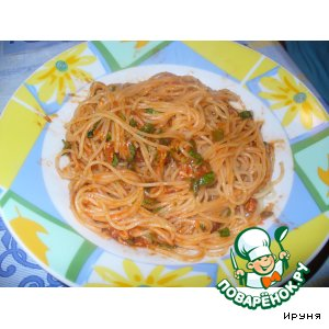 Спагетти на итальянский манер