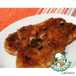 Куриные котлетки с сыром и грецким орехом