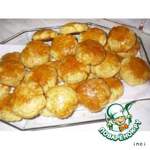 Ароматное кокосовое печенье