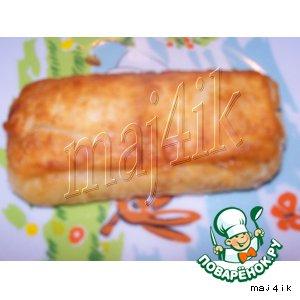 Жареные слоeные пирожки с необычной начинкой