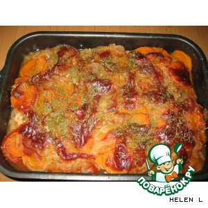 Запеченная Рыба в томате