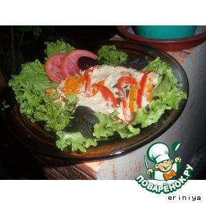 Свинина с разными овощами
