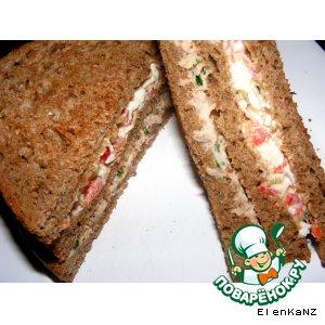 Сэндвичи с двумя начинками