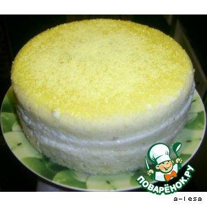 Торт в микроволновке за 16 минут