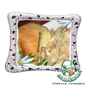Ароматная курочка в сливочном соусе