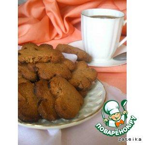 Гречневое печенье с шоколадом