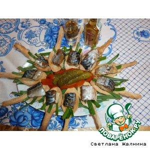 Рыбные  консервы домашние в оригинальной подаче