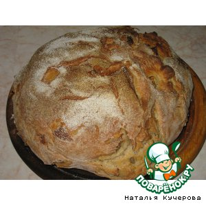 Хлеб с луком и лавровым листом