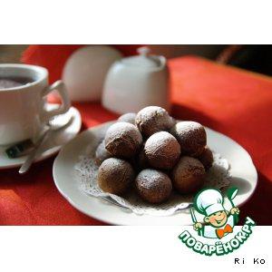 """Итальянские медовые пончики """"Струффоли"""""""