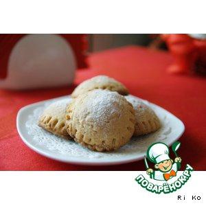 """Песочное печенье с начинкой """"Сладкие равиоли"""""""