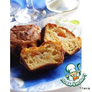 Закусочный кекс с сырной начинкой