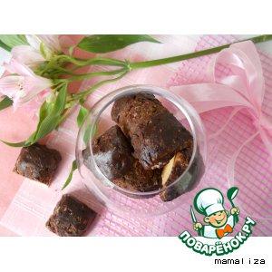 Баварское печенье с вишней и шоколадом