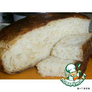 Хлеб с сыром (без дрожжей)