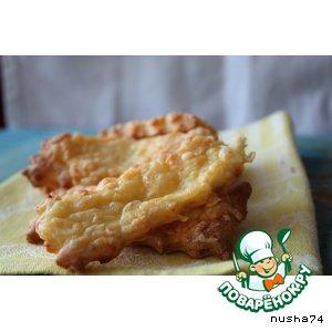 Печенье с сыром и сметаной