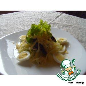 Очищающий витаминный салат