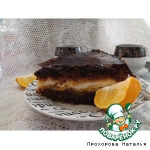 """Торт """"Кофе с лимоном"""""""
