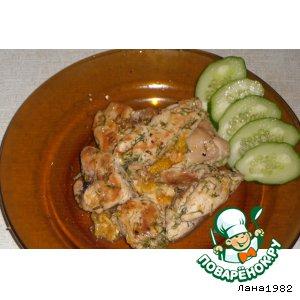 Куриное филе «Мандаринка»