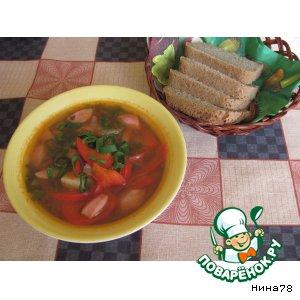 Суп с щавелем и овощами