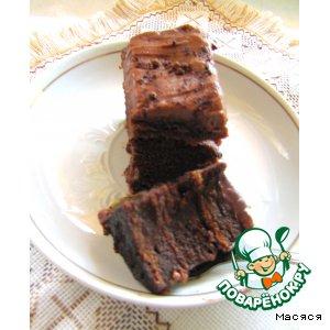 Нежный шоколадный торт без муки