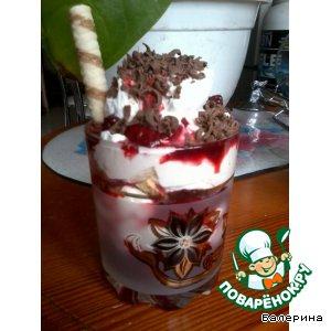 "Десерт ""Strawberry Glory"""