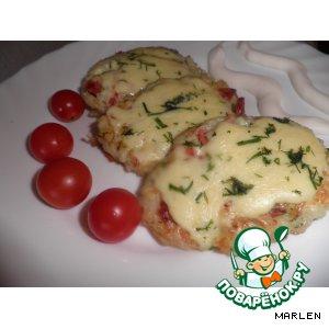 Рисовые оладушки с сыром