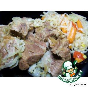 Тушеная свинина по рецепту Су Ши
