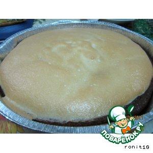 Пирог творожно-лимонный