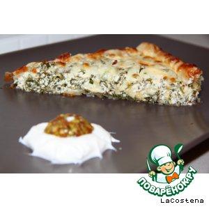 """Зеленый пирог """"Дачник"""""""