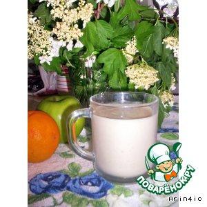 Волшебный овсяный напиток на молоке