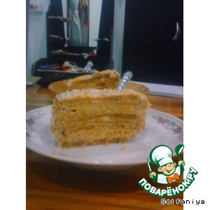"Морковный торт ""От Cosmo"""