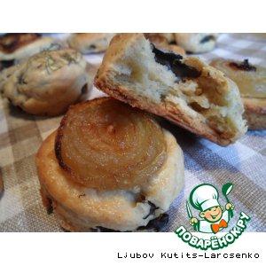 Американские грибные булочки с луком