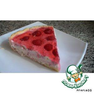 """Пирог фруктово-творожный """"Корзинка"""""""