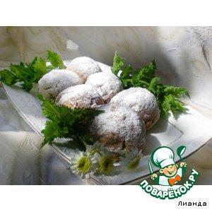 Овсяно-гречневое печенье с вишней