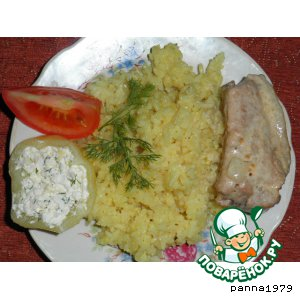 Свиные ребрышки в сметанно-горчичном соусе