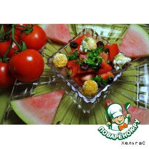 Арбузно-помидорная радость