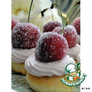 Пирожное «Зимняя вишня»
