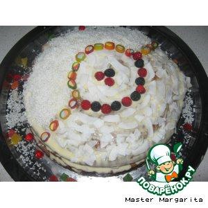 Медово-Сметанный тортик