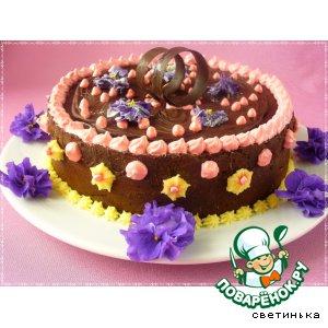 "Шоколадный торт ""Служебный шокороман"""
